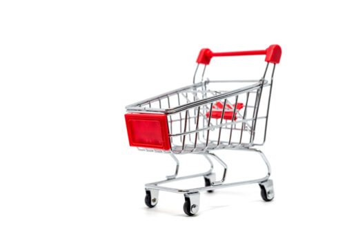 Miniature shopping cart - slon.pics - free stock photos and illustrations