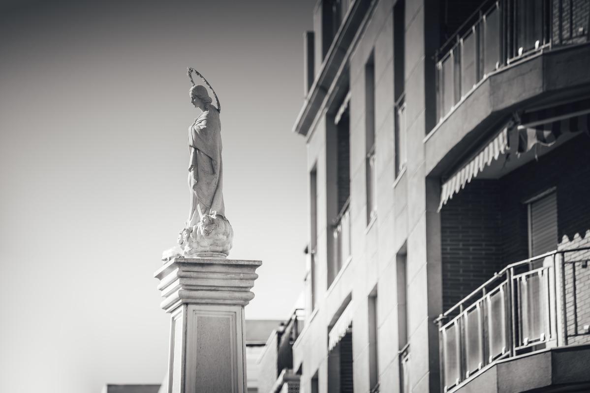 Monumento a La Purisima Concepcion. Torrevieja, Spain - slon.pics - free stock photos and illustrations