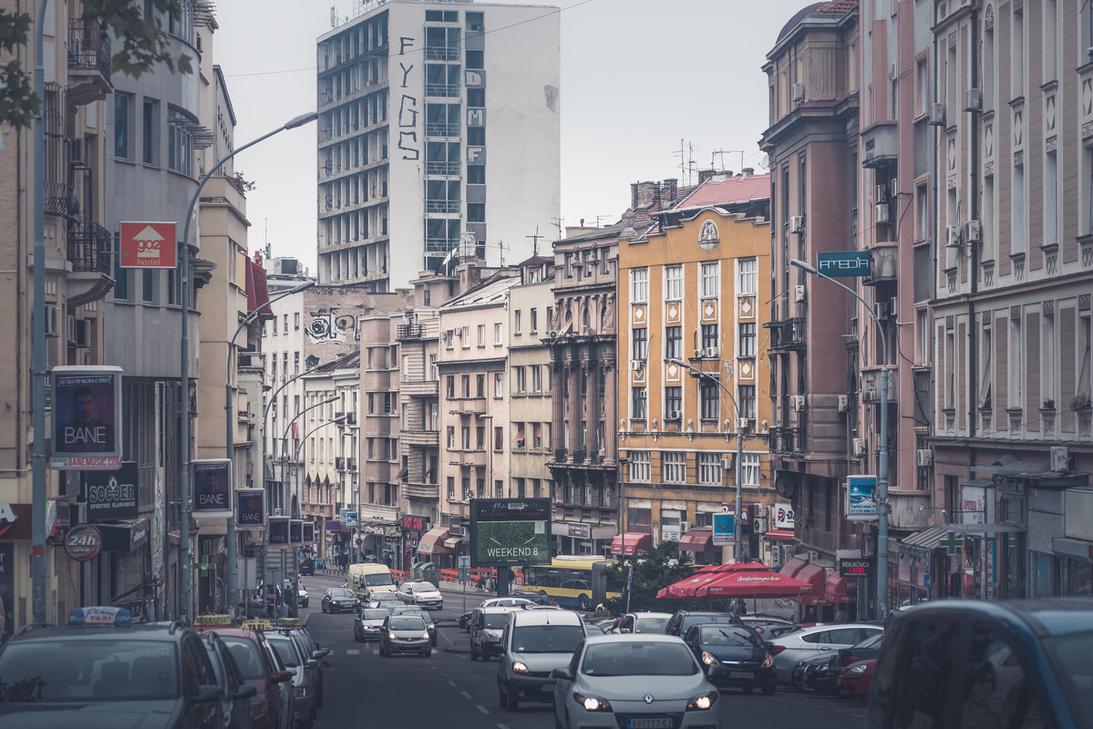 Prizrenska Street. Belgrade, Serbia. September 25, 2015 - slon.pics - free stock photos and illustrations