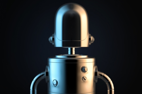 Robot portrait. 3D illustration. Contains clipping path - slon.pics - free stock photos and illustrations