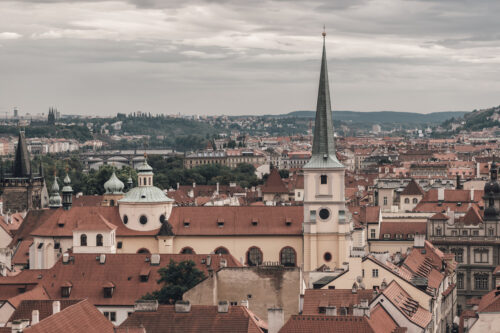 View of historical Prague cityscape. Czech Republic - slon.pics - free stock photos and illustrations