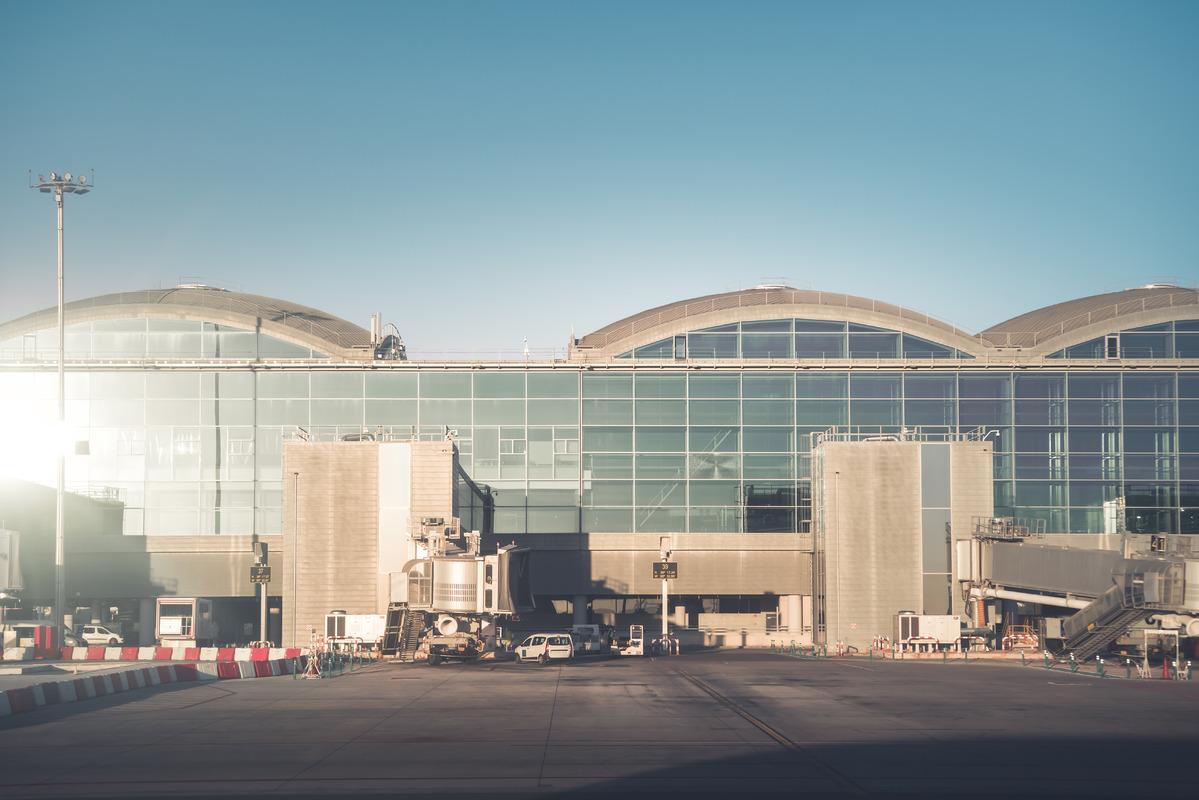 Alicante-Elche Airport. Spain - slon.pics - free stock photos and illustrations
