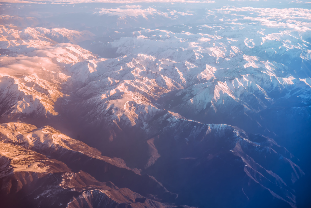 Colorful Alps - slon.pics - free stock photos and illustrations