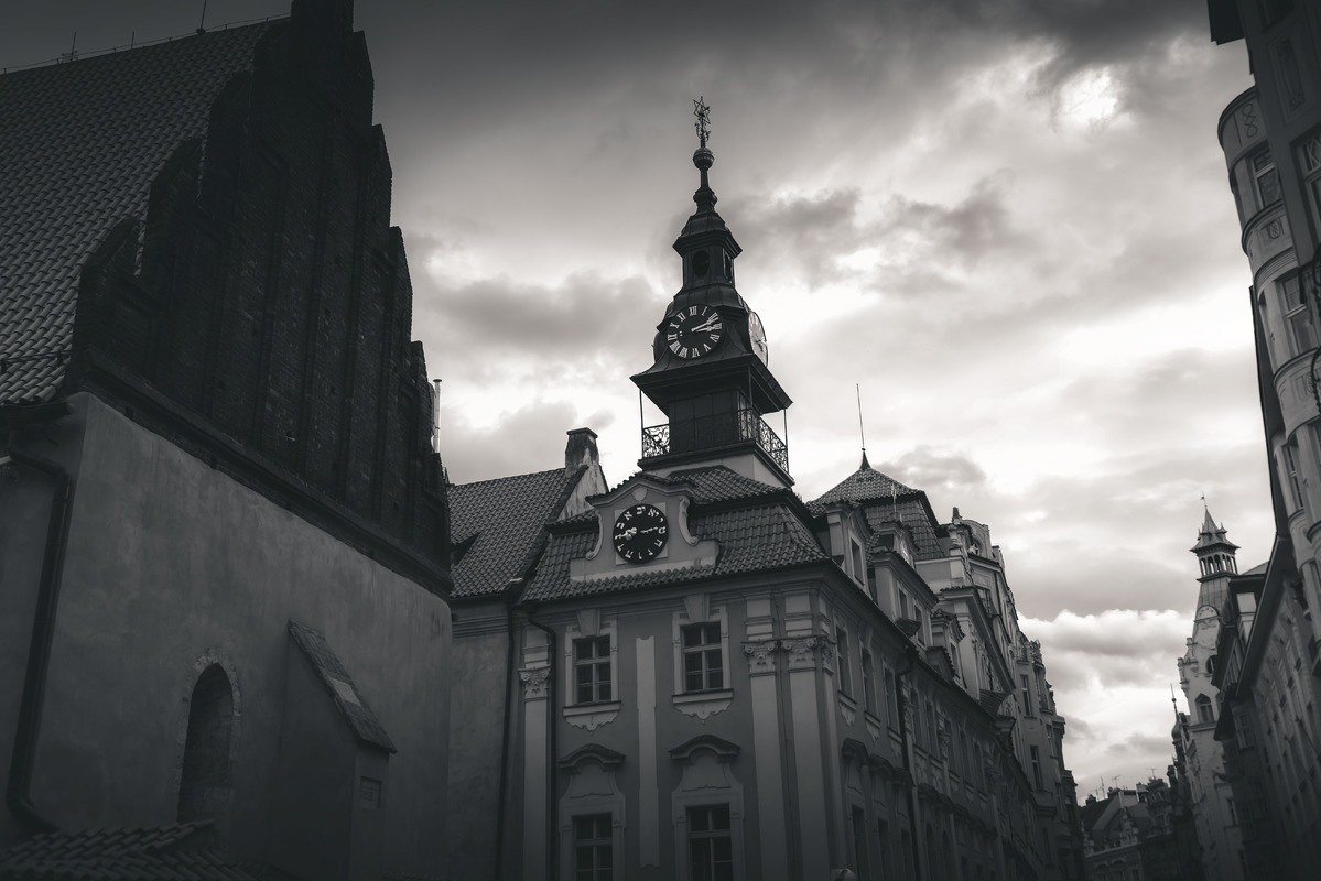 Old new synagogue near High synagogue in Prague, Czech republic - slon.pics - free stock photos and illustrations