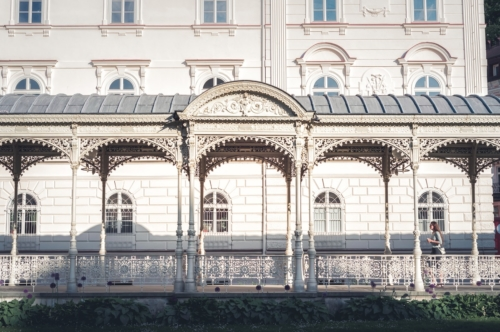 Park Colonnade. Karlovy Vary. Czech Republic - slon.pics - free stock photos and illustrations