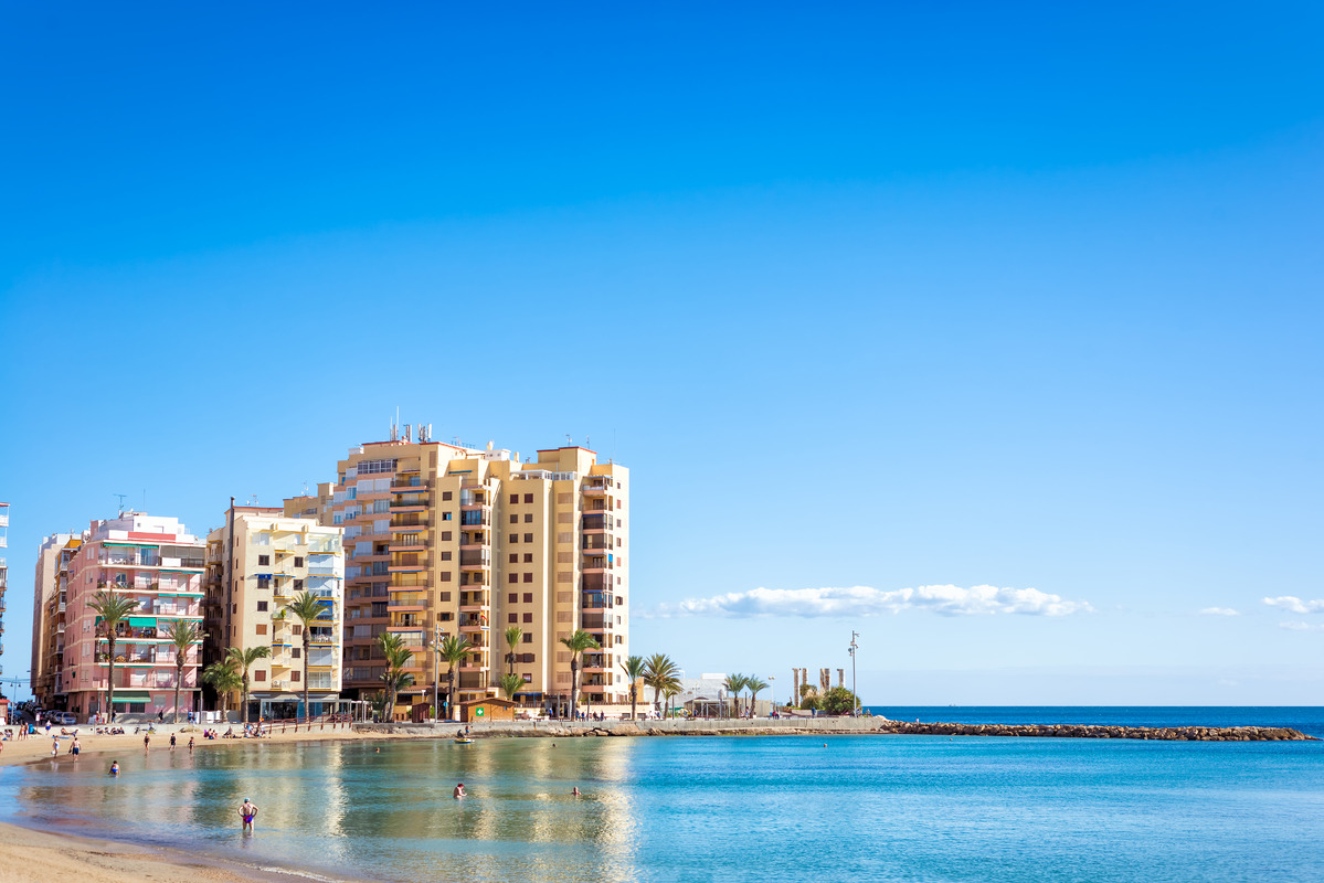 Torrevieja seafront. Spain - slon.pics - free stock photos and illustrations
