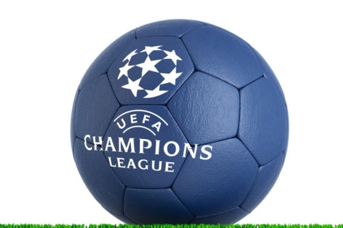 Football ball with UEFA Champions League Final logo - slon.pics - free stock photos and illustrations