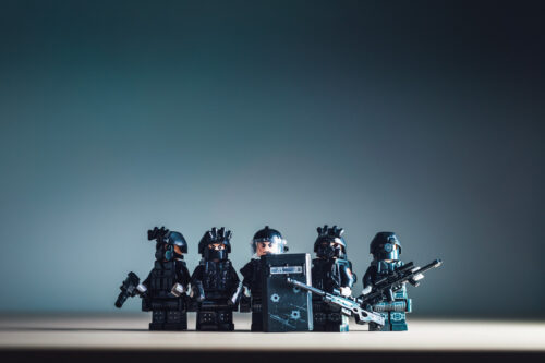 Miniature SWAT team - slon.pics - free stock photos and illustrations