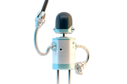 Robot with screwdriver - slon.pics - free stock photos and illustrations