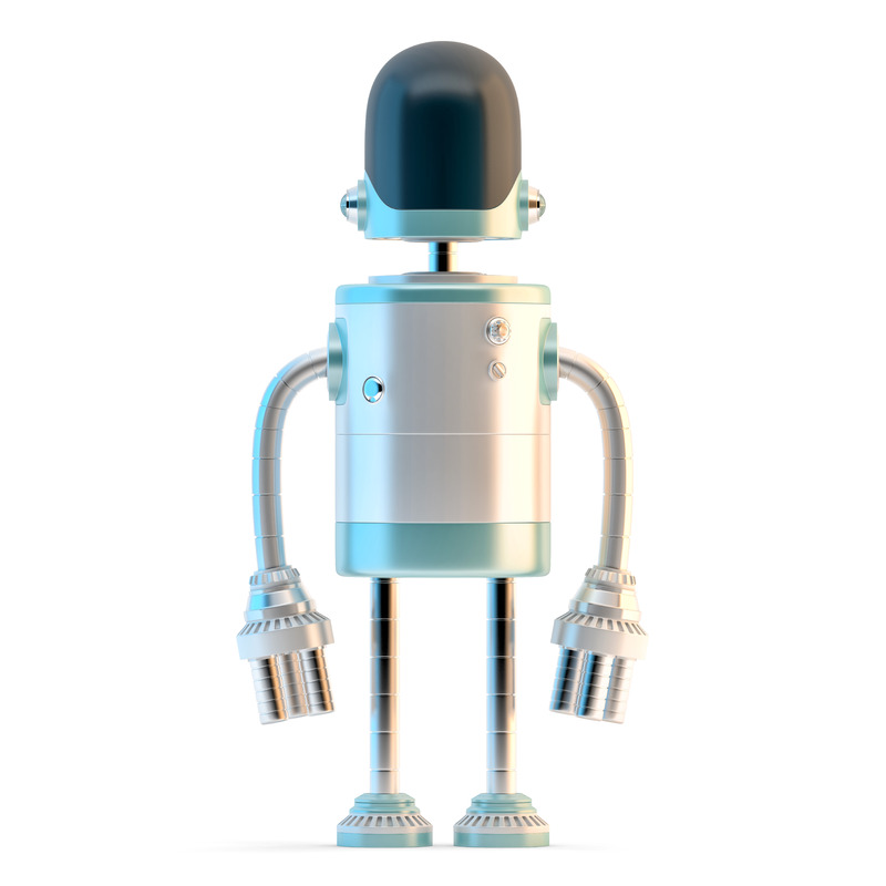 Standing Robot - slon.pics - free stock photos and illustrations