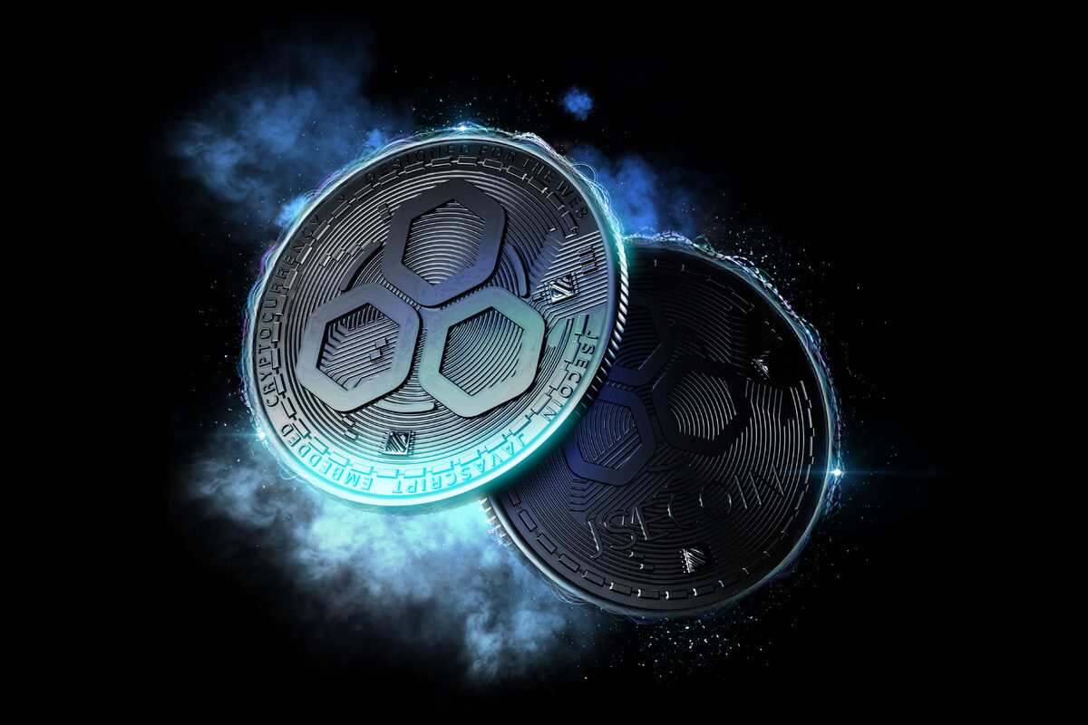 Glowing JSE coins - slon.pics - free stock photos and illustrations