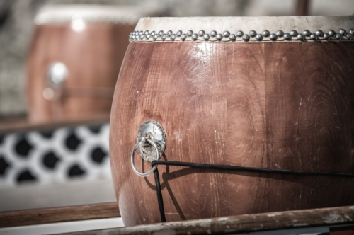 Close-up of dragon boat drum - slon.pics - free stock photos and illustrations