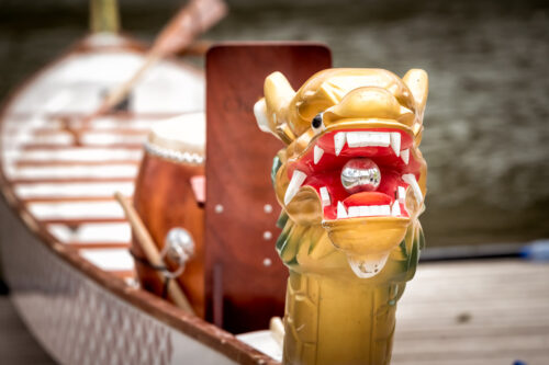 Closeup head of dragon boat - slon.pics - free stock photos and illustrations