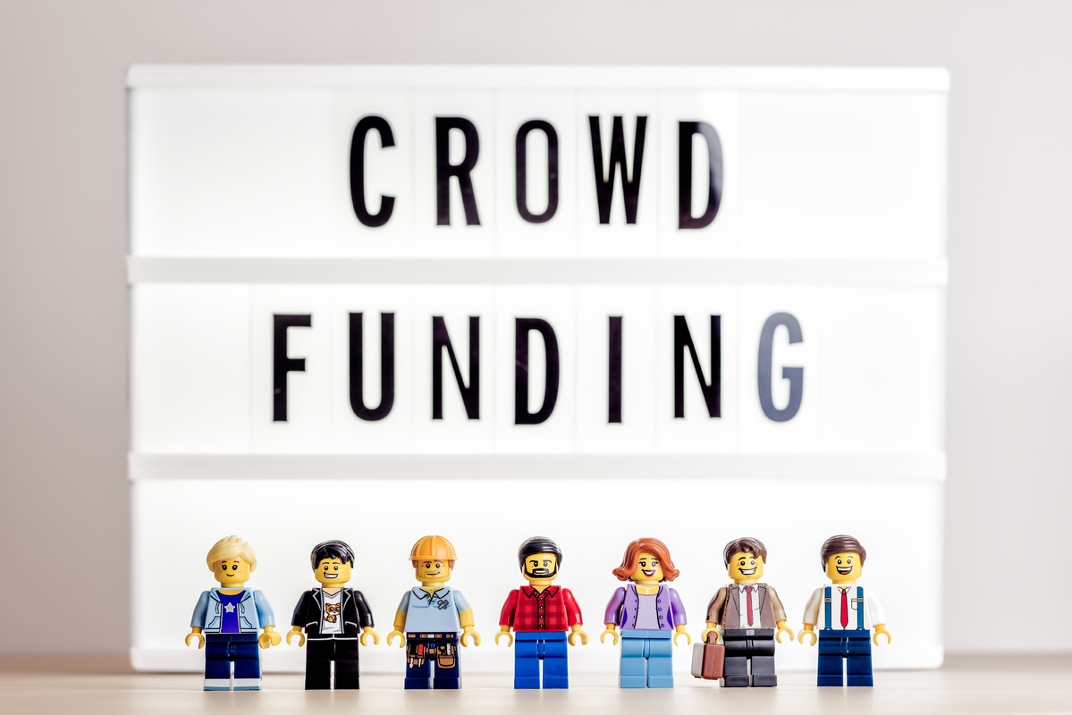Crowdfunding concept - slon.pics - free stock photos and illustrations
