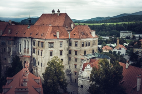 Famous castle of Cesky Krumlov - slon.pics - free stock photos and illustrations