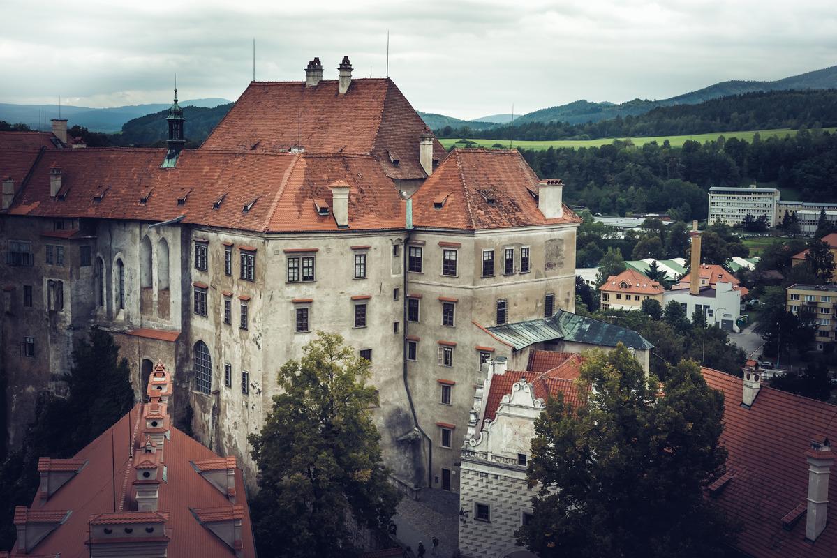Famous castle of Cesky Krumlov - slon.pics - free stock photos and illustrations