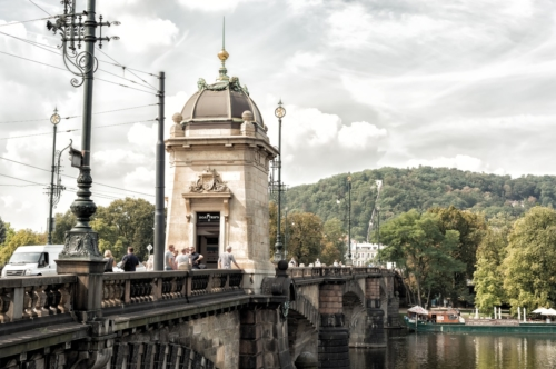 Legion Bridge (Czech: Most Legiн). Prague - slon.pics - free stock photos and illustrations