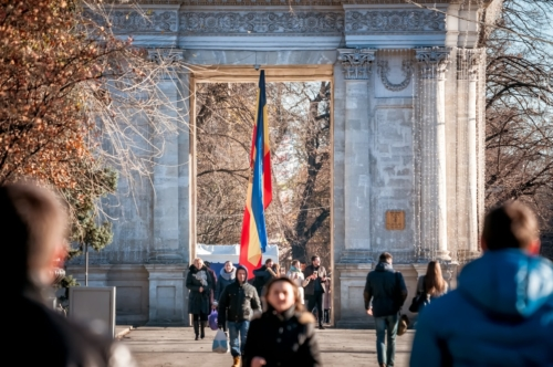 The Triumphal arch. Chisinau - slon.pics - free stock photos and illustrations