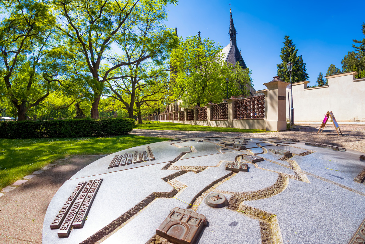 Vysehrad Public Park and Basilica of Saints Peter and Paul - slon.pics - free stock photos and illustrations