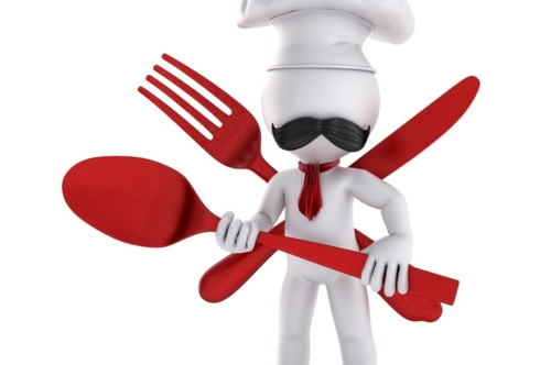 3D Chef with spoon - slon.pics - free stock photos and illustrations