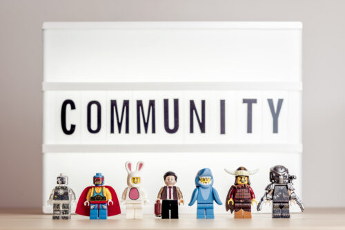 Concept of Community. The crowd weird people - slon.pics - free stock photos and illustrations