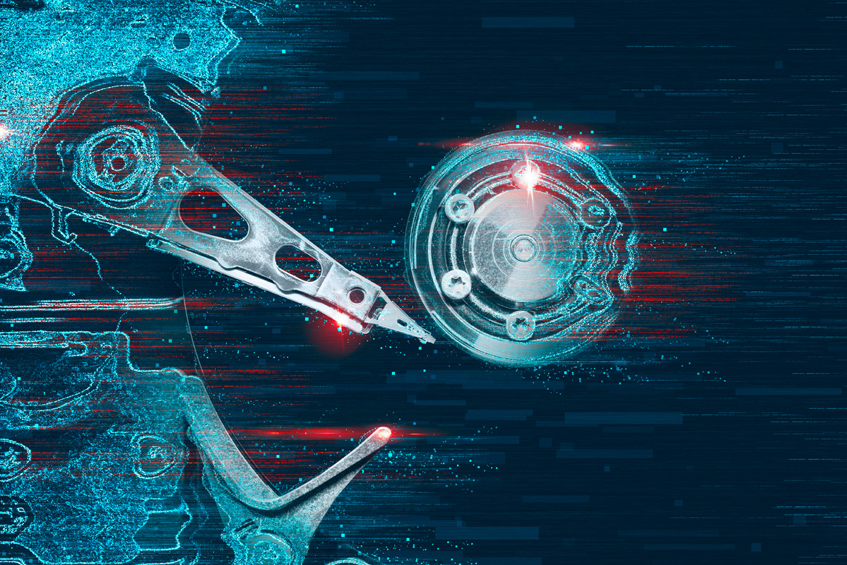 Hard Drive. Technology concept - slon.pics - free stock photos and illustrations