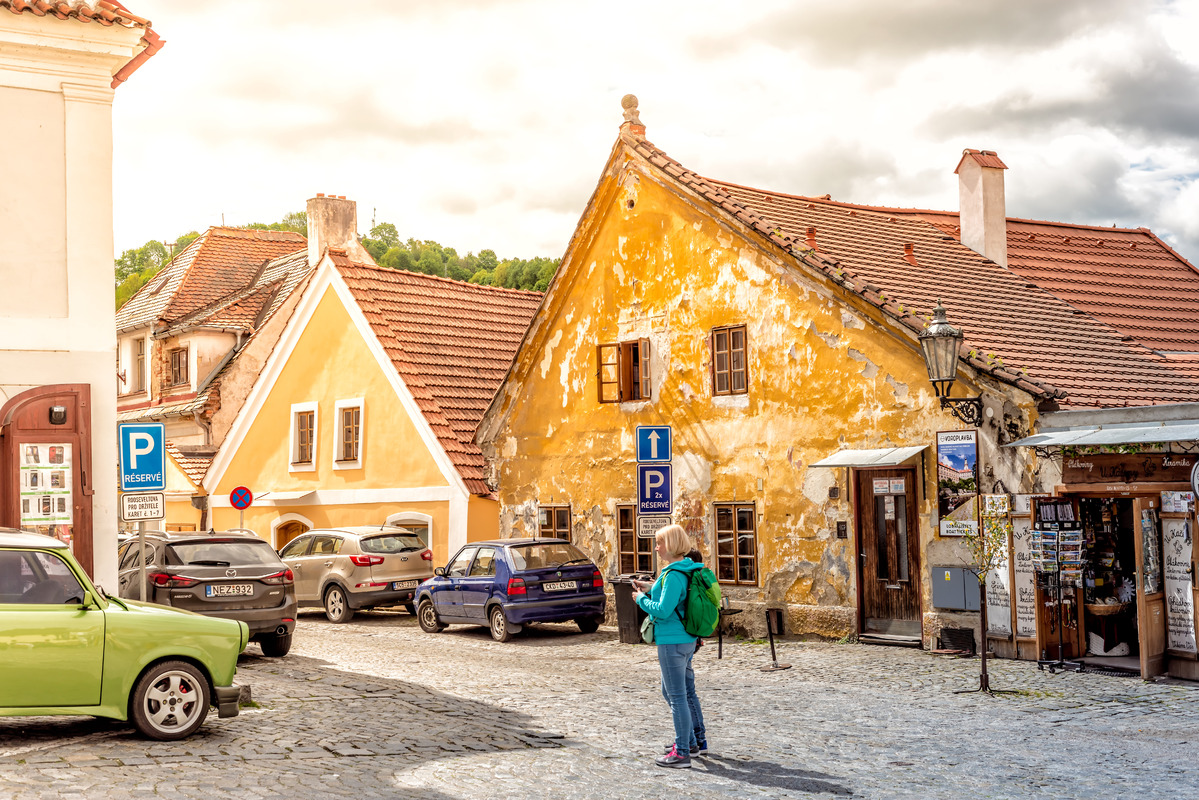 Historic old town of Cesky Krumlov - slon.pics - free stock photos and illustrations