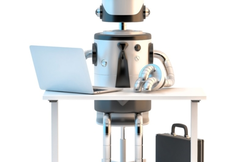 Robot at work - slon.pics - free stock photos and illustrations