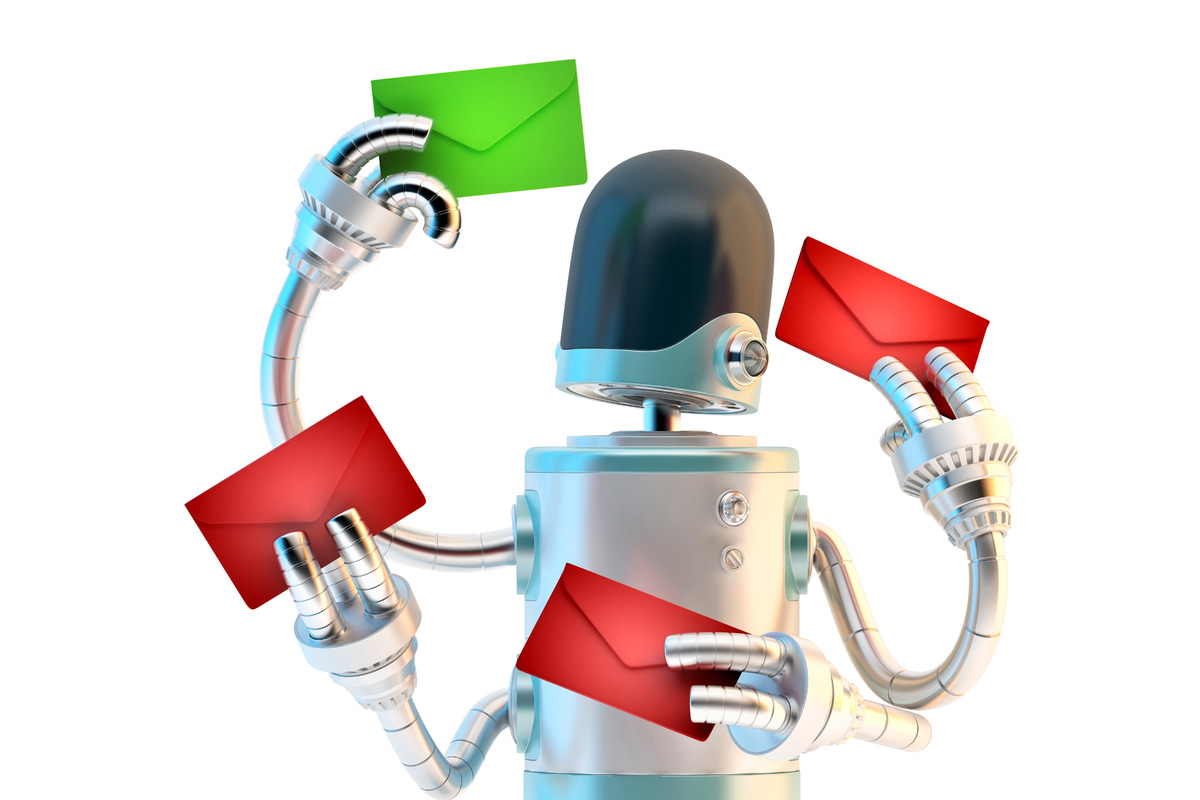 Spam filtering concept - slon.pics - free stock photos and illustrations