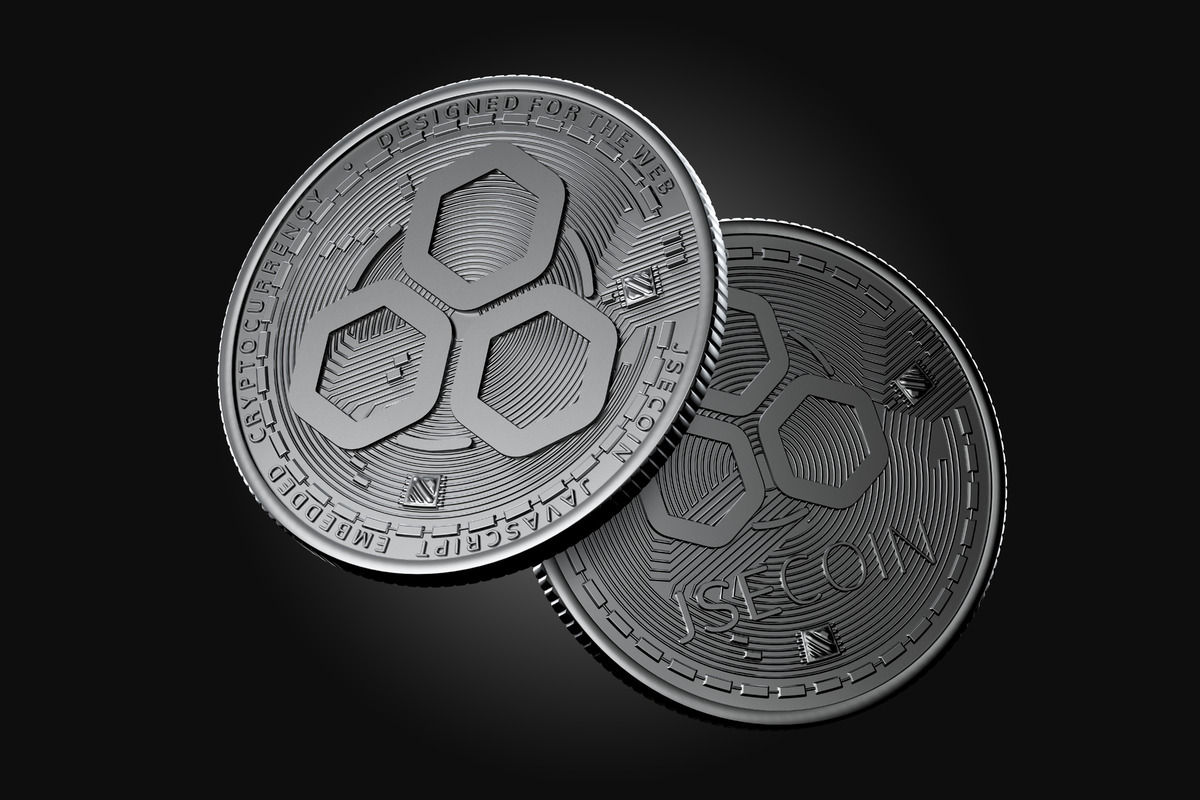 Dark JSE coins - slon.pics - free stock photos and illustrations