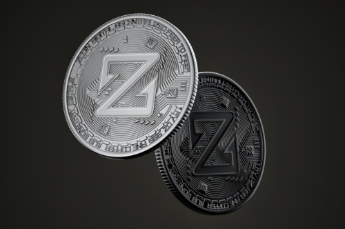 Dark Zcoin coins - slon.pics - free stock photos and illustrations