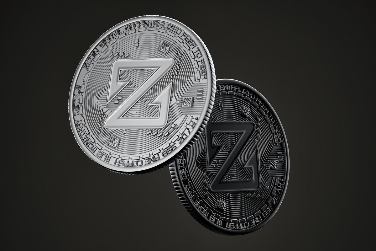 Dark Zcoin coins - slon.pics - free stock photos and illustrations