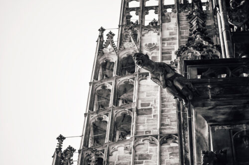 Gargoyle On St. Vitus Cathedral. Prague, Czech Republic - slon.pics - free stock photos and illustrations