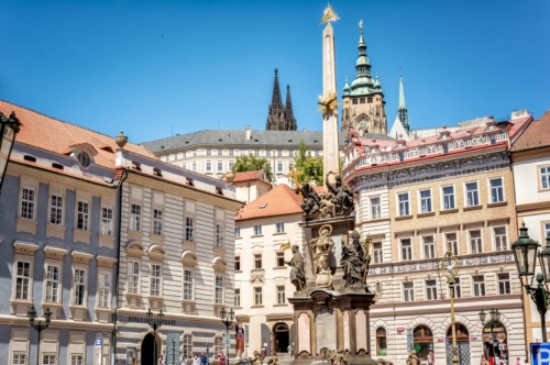 Holy Trinity Column, Prague - slon.pics - free stock photos and illustrations