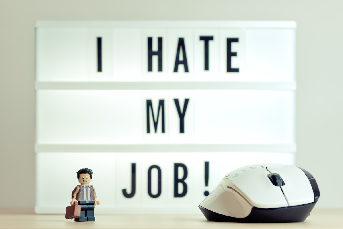 I Hate My Job - slon.pics - free stock photos and illustrations