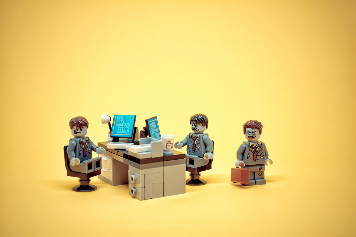 Office zombies - slon.pics - free stock photos and illustrations