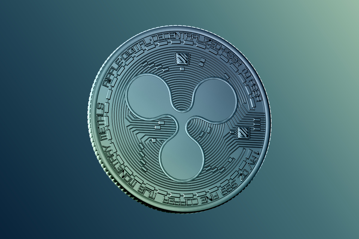 Ripple coin - slon.pics - free stock photos and illustrations