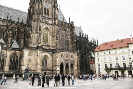 Third courtyard of Saint Vitus cathedral - slon.pics - free stock photos and illustrations