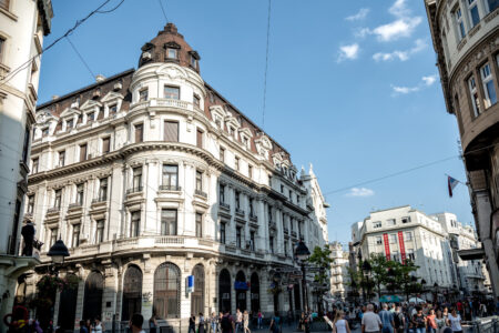 Walking zone in the center of Belgrade - slon.pics - free stock photos and illustrations