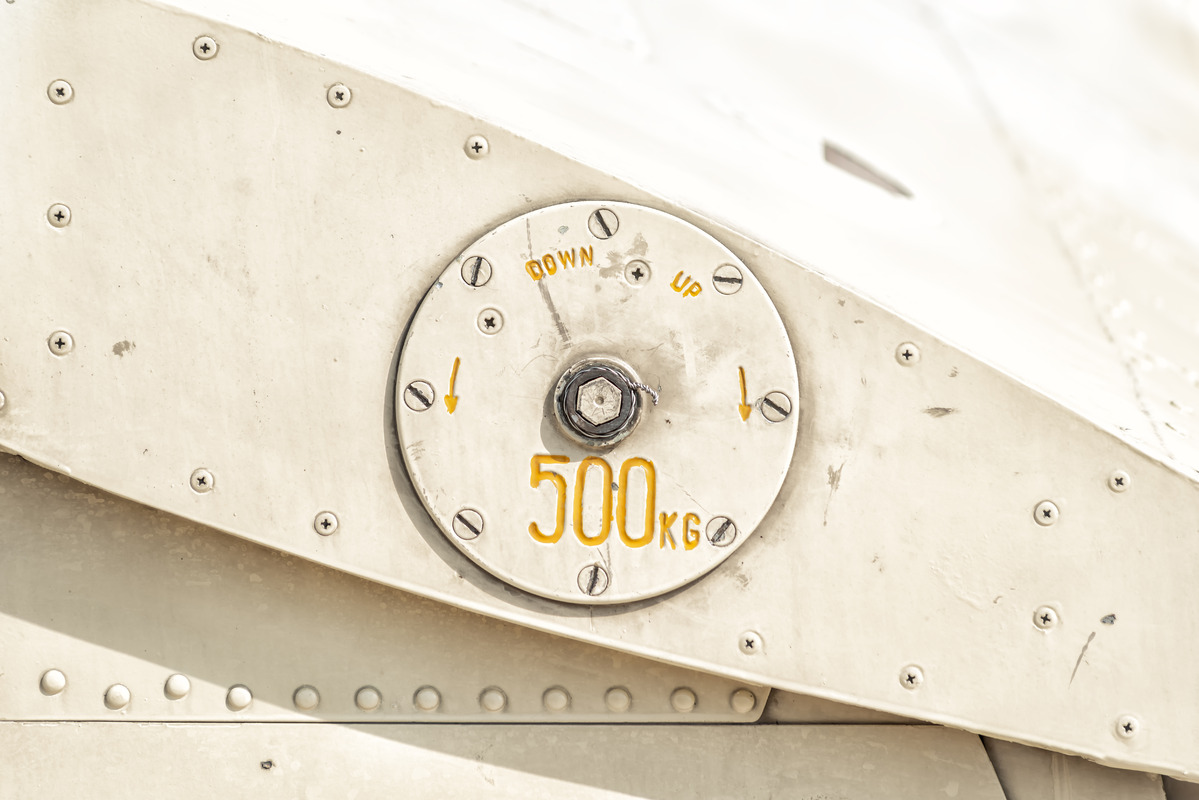 Details on helicopter fuselage - slon.pics - free stock photos and illustrations