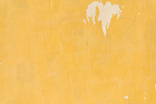 Old yellow wall - slon.pics - free stock photos and illustrations