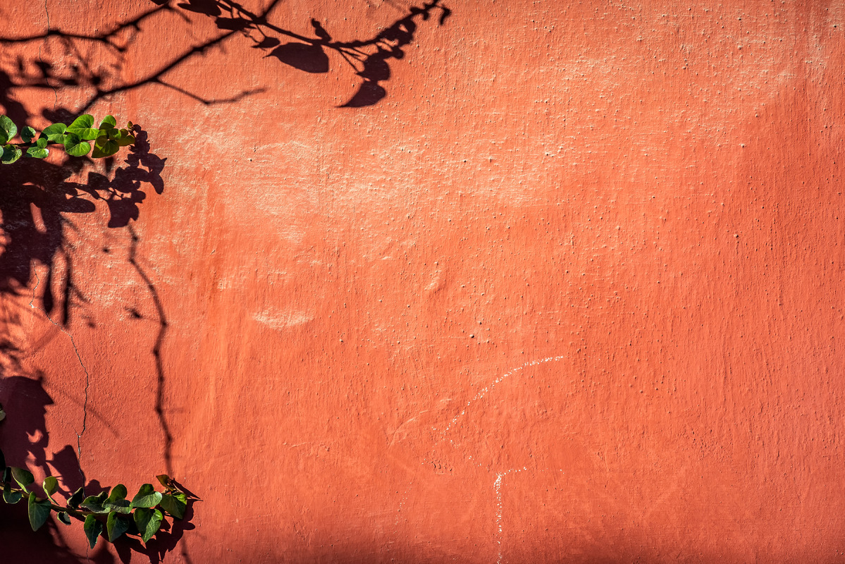 Shabby red wall - slon.pics - free stock photos and illustrations