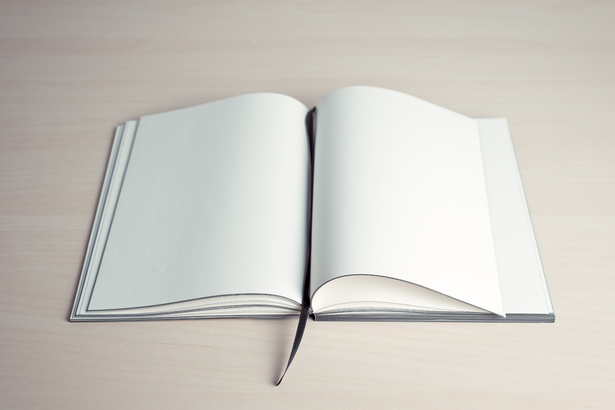 Book with blank pages - slon.pics - free stock photos and illustrations