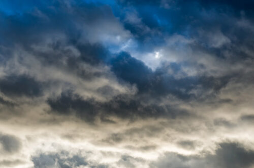 Dark ominous clouds - slon.pics - free stock photos and illustrations