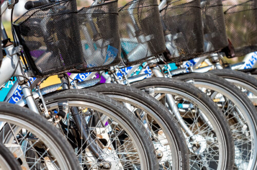Public bicycles - slon.pics - free stock photos and illustrations