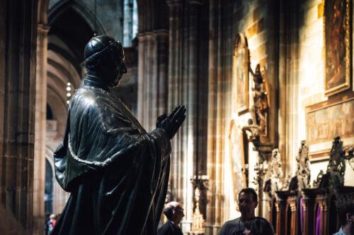 Statue of Friedrich Prince zu Schwarzenberg - slon.pics - free stock photos and illustrations