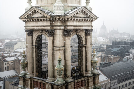 Bell tower of St. Stephen Basilica - slon.pics - free stock photos and illustrations