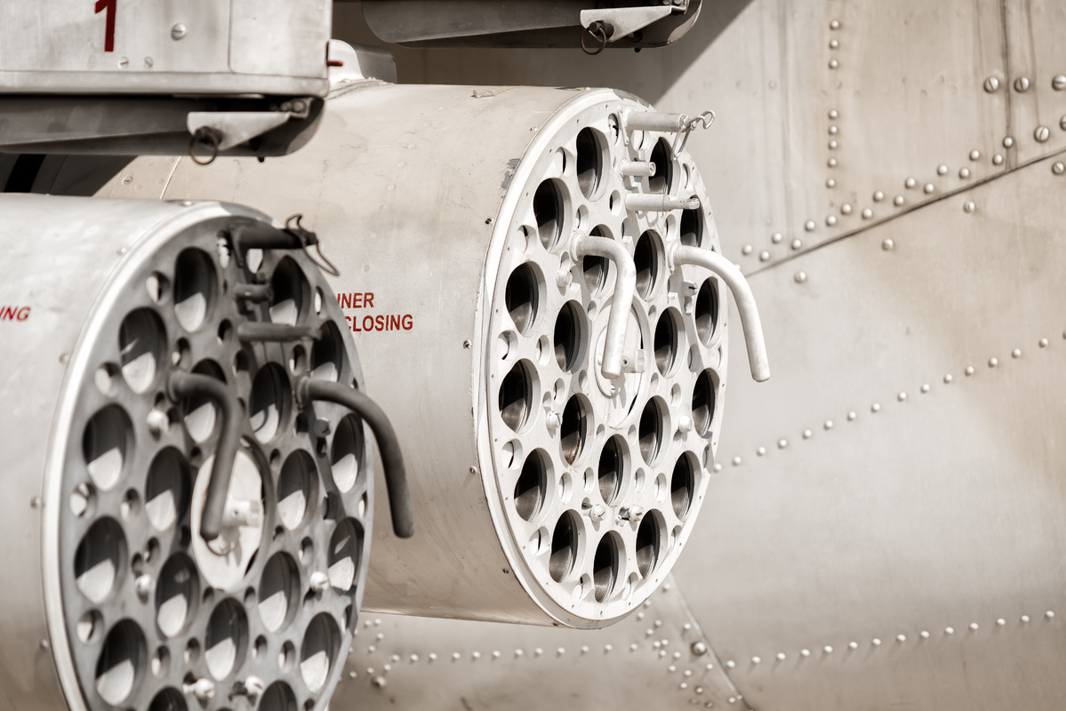 Missile turret helicopter gunship. - slon.pics - free stock photos and illustrations