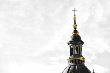 Spire of St. Stephen's Basilica - slon.pics - free stock photos and illustrations