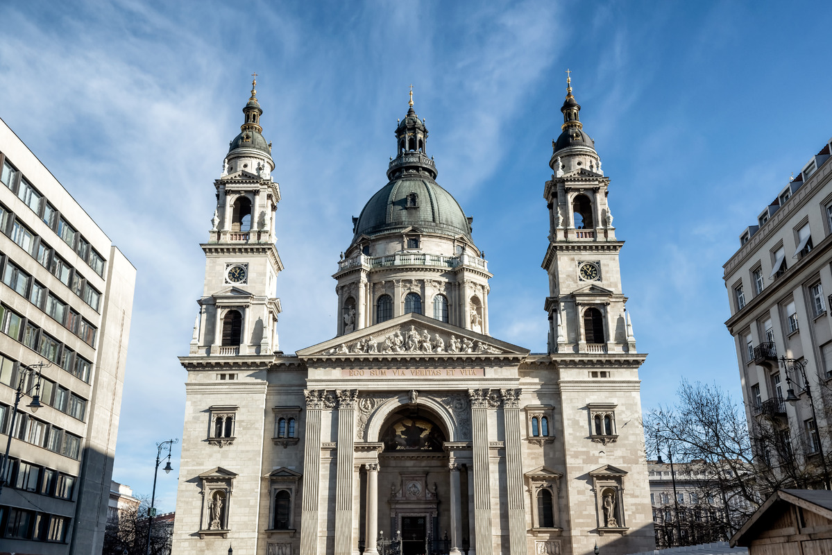 St.Stephen`s Basilica. Budapest - slon.pics - free stock photos and illustrations